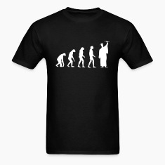 Evolved to Graduate T-Shirts