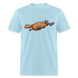 Plaid Platypus - Men's T-Shirt