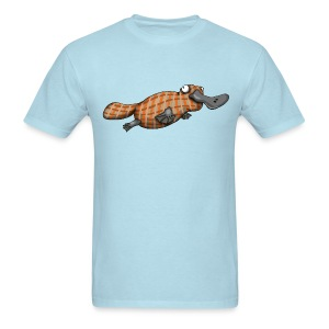 Plaid Platypus - Men's T-Shirt