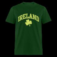 T-Shirts ~ Men's T-Shirt ~ Lime Sparkle Ireland T-Shirt