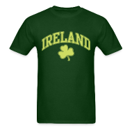 T-Shirts ~ Men's T-Shirt ~ Lime Sparkle Ireland T-Shirt