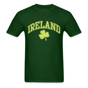 Lime Sparkle Ireland T-Shirt - Men's T-Shirt