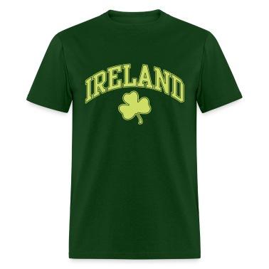Ireland with Shamrock T-Shirts