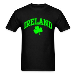 Neon Green/Black Ireland T-Shirt - Men's T-Shirt