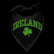 Caps ~ Bandana ~ Green Glitter Ireland Dog Hankie