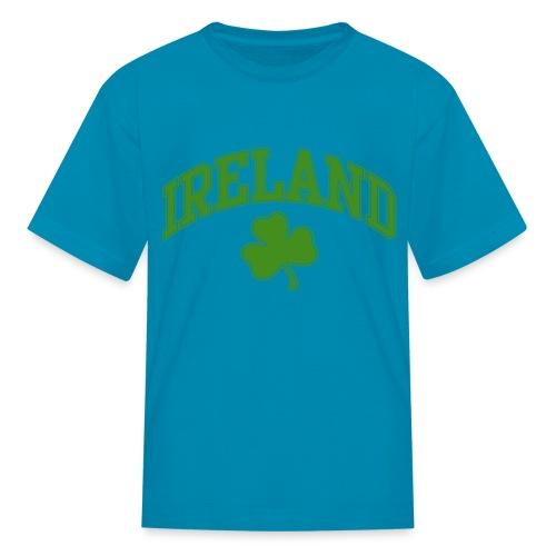 Glitter Green Ireland Kids T-Shirt - Kids' T-Shirt