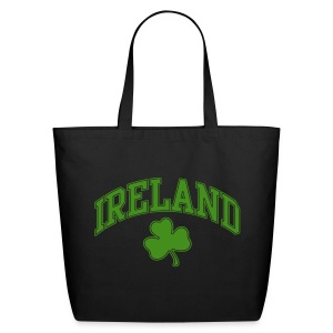 Green Sparkle Ireland Tote Bag - Eco-Friendly Cotton Tote