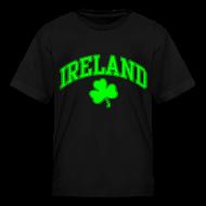 Kids' Shirts ~ Kids' T-Shirt ~ Neon Green Ireland Kids T-Shirt