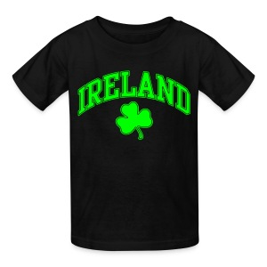 Neon Green Ireland Kids T-Shirt - Kids' T-Shirt