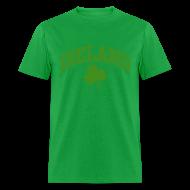 T-Shirts ~ Men's T-Shirt ~ Glitter Green Ireland T-Shirt