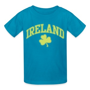 Shimmer Lime Green Ireland Kids T-Shirt - Kids' T-Shirt
