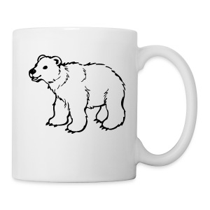 polar bear riddle mug - Coffee/Tea Mug