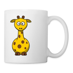 giraffe riddle mug - Coffee/Tea Mug