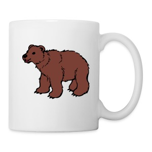 Brown bear riddle mug - Coffee/Tea Mug