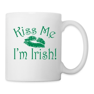 Kiss Me I'm Irish Mug - Coffee/Tea Mug