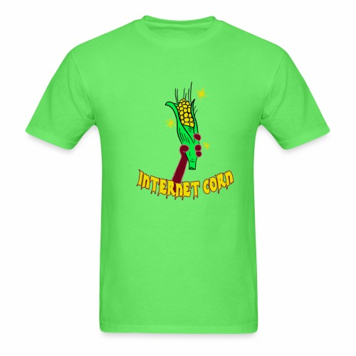 Internet Corn Hand - Men's T-Shirt