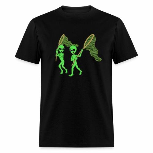 Aliens Hunting - Men's T-Shirt