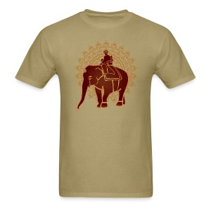 Indian Elephant - Men's T-Shirt