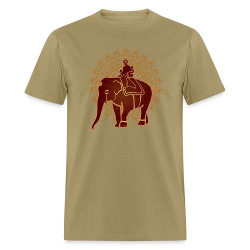Indian Elephant - Men's T-Shirt