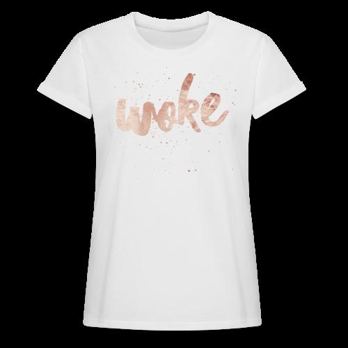 Women's Woke Tshirt  - Women's Relaxed Fit T-Shirt