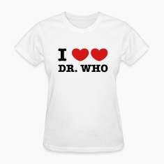 I Love Love Dr Who Women's T-Shirts