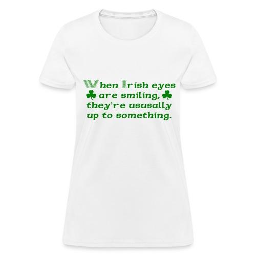 Irish Eyes - Women's T-Shirt