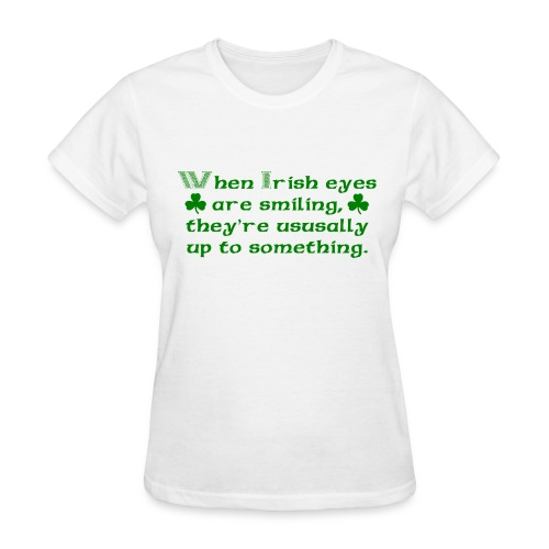 Irish Eyes - Women's T-Shirt