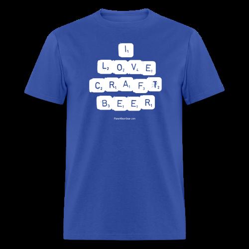 I LOVE CRAFT BEER Men's T-Shirt - Men's T-Shirt