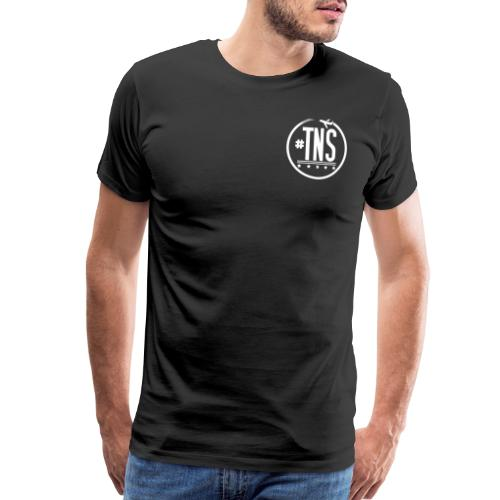#TNS 4.5 INCH LOGO TEE - Men's Premium T-Shirt
