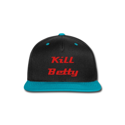 Hat (Blue) - Snap-back Baseball Cap