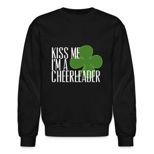 Kiss Me I'm a cheerleader crewneck - Crewneck Sweatshirt