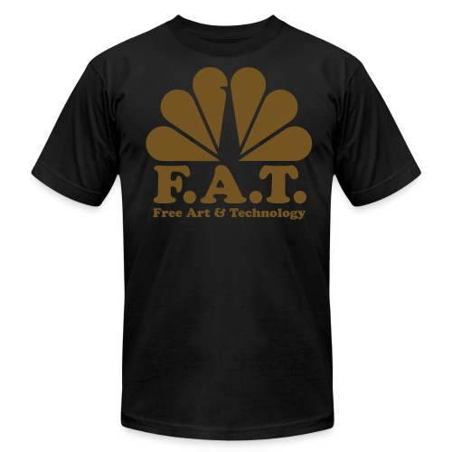Fat Gold - American Apparel - Male - Men's  Jersey T-Shirt