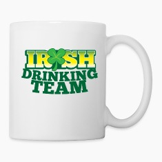 IRISH DRINKING TEAM St PATRICKS DAY Bottles & Mugs