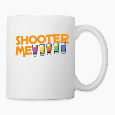 SHOOTER ME many colored cocktail shots Bottles & Mugs