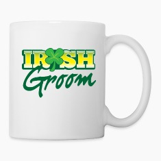IRISH GROOM marrying an Irishman  Bottles & Mugs