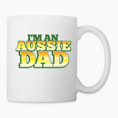 AUSSIE DAD australian father daddy Bottles & Mugs
