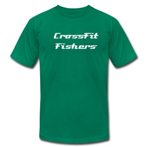 CrossFit Fishers, men's t-shirt - Men's T-Shirt by American Apparel