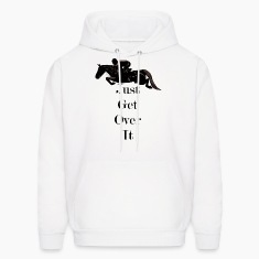 Just Get Over It! Horse Jumper Hoodie