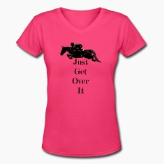 Just Get Over It! Horse Jumper T-Shirt