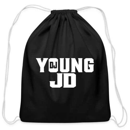 Official DJ Young JD Logo Drawstring Bag - Cotton Drawstring Bag