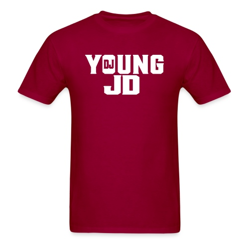 Official DJ Young JD Logo T-Shirt - Men's T-Shirt
