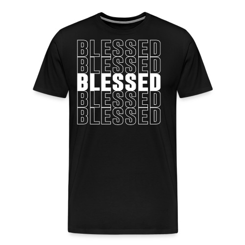 Blessed Crew Neck tshirt - Men's Premium T-Shirt