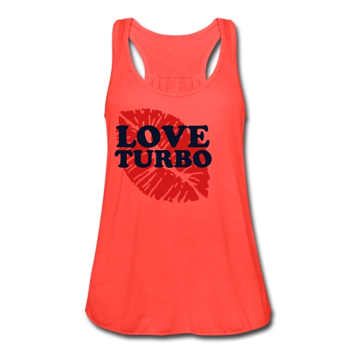 Women's Flowy Tank Top by Bella - turbo kick tank top shirt turbokick exercise fitness cute work out clothes workout zumba group fitness women womens fire jam
