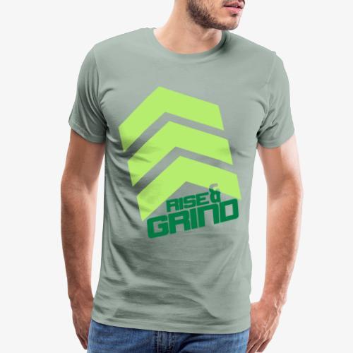 RISE & GRIND - Men's Premium T-Shirt