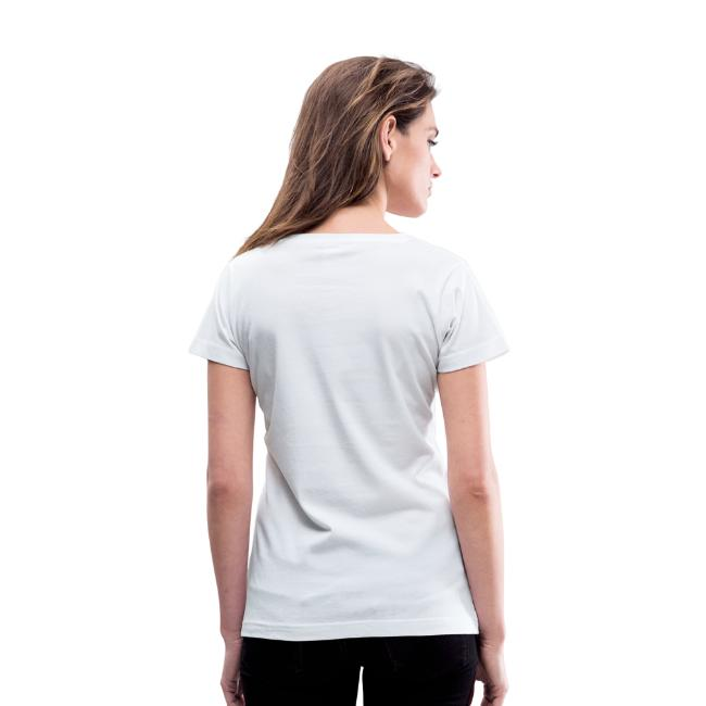 Rainbow Typography Pride Month Womens V-Neck T-shirt