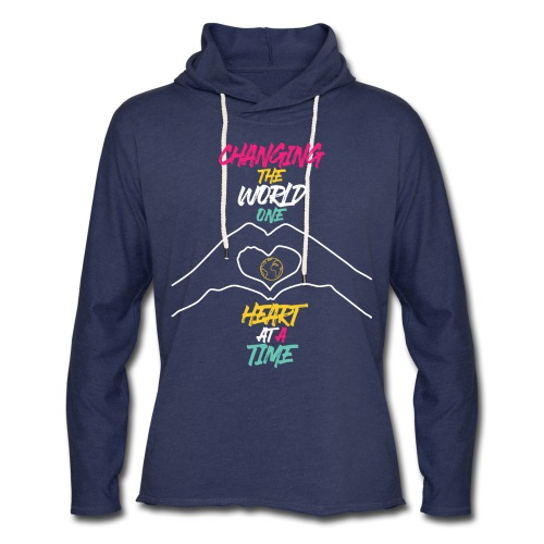 Changing the World - Unisex Lightweight Terry Hoodie