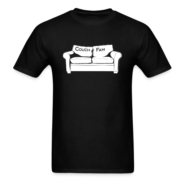 Couch Fam Black T-Shirt