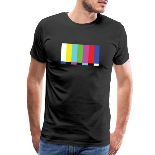 TV Test - Men's Premium T-Shirt