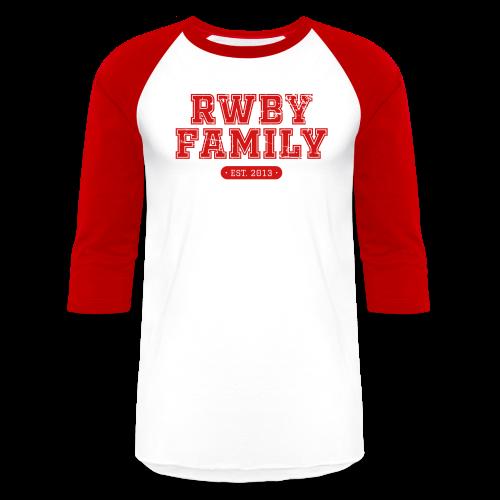 RWBY Family Varsity Men's Baseball Tee - Baseball T-Shirt