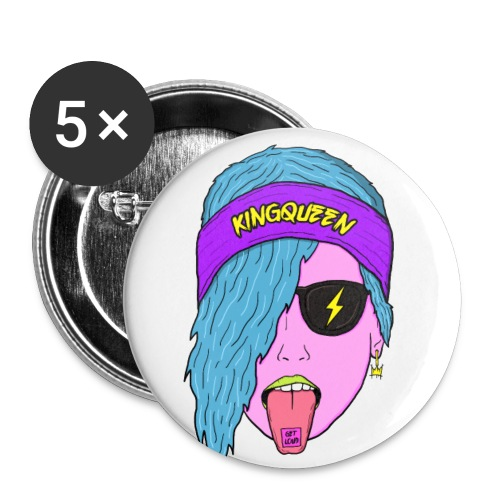 GET LOUD Pin - Buttons small 1'' (5-pack)